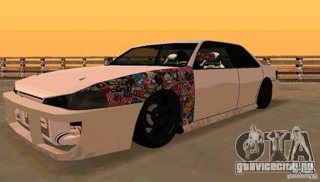 New Sultan v1.5 для GTA San Andreas вид слева