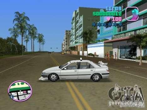 Peugeot 406 Taxi для GTA Vice City вид сзади слева