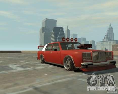 Greenwood Tuned из San Andreas для GTA 4 вид слева