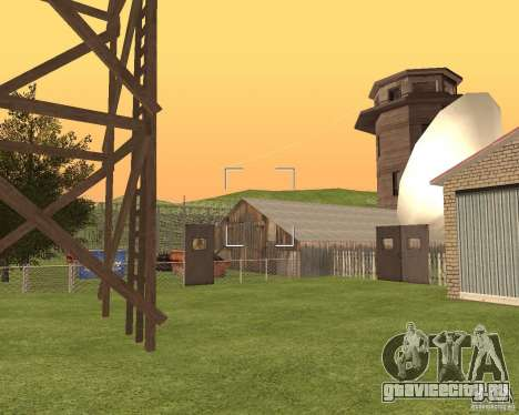 База в Гарели для GTA San Andreas пятый скриншот