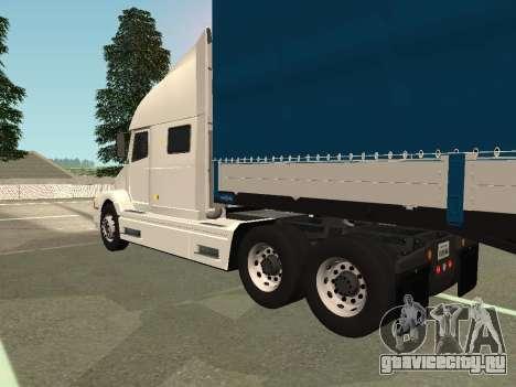 Volvo VNL для GTA San Andreas вид сзади слева