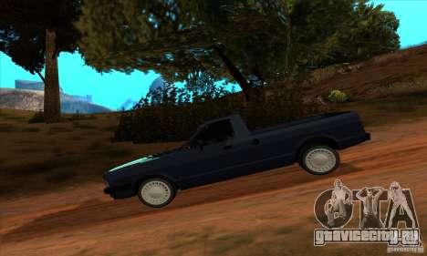 Ford Pampa Ghia 1.8 Turbo для GTA San Andreas вид сзади слева