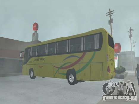 Yanson Viking - CERES TOURS 6279 для GTA San Andreas вид изнутри