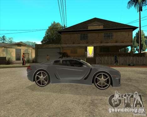 Барс Теория Гранд Туризмо для GTA San Andreas вид справа