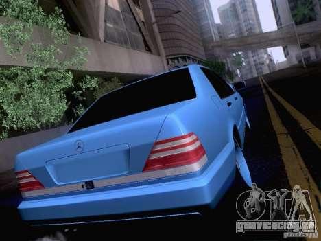 Mercedes-Benz S-Class W140 для GTA San Andreas