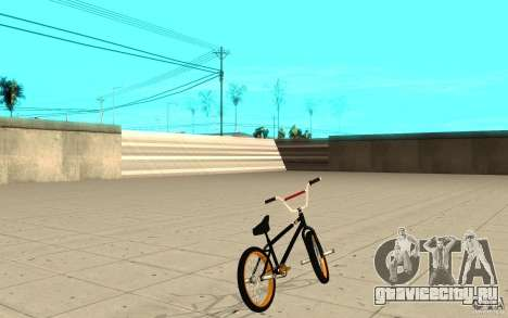 REAL Street BMX для GTA San Andreas вид сзади слева