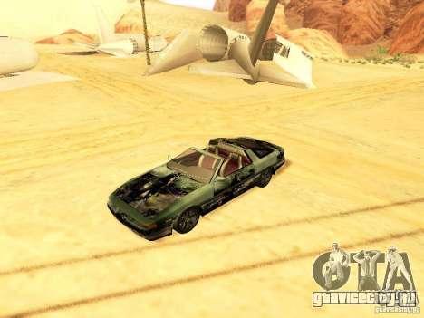 Toyota Supra для GTA San Andreas вид сбоку