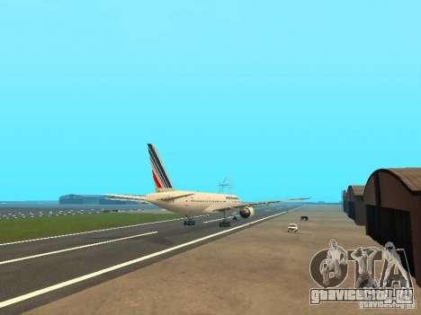 Boeing 777-200 Air France для GTA San Andreas вид справа