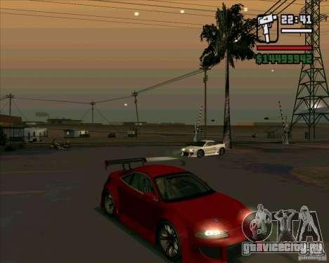 Mitsubishi Eclipse GS-T для GTA San Andreas вид слева