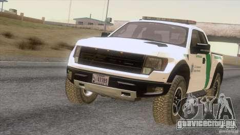 Ford Raptor для GTA San Andreas вид слева