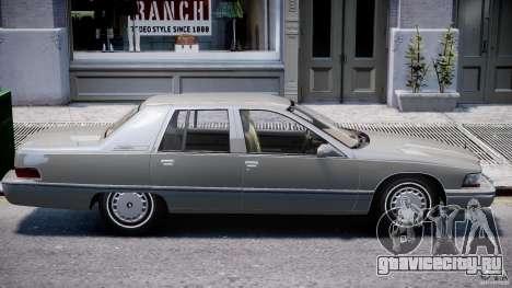 Buick Roadmaster Sedan 1996 v 2.0 для GTA 4 салон
