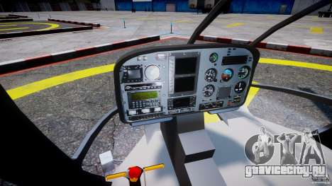 Eurocopter EC 130 Finnish Police для GTA 4 вид сзади