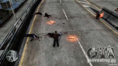 Blood-Mod v6.0 для GTA 4 второй скриншот