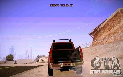 Nissan Fronter для GTA San Andreas вид сбоку