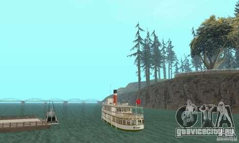 RMS Segwun Ferry для GTA San Andreas вид слева