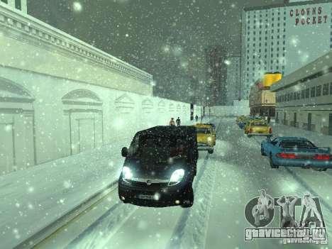 Vauxhall Vivaro v0.1 для GTA San Andreas вид сзади