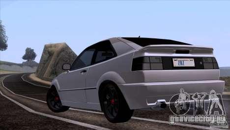 Volkswagen Corrado VR6 для GTA San Andreas вид справа