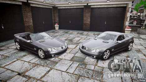 Mercedes Benz SL65 AMG для GTA 4 салон