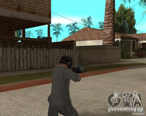 M4 Drum Magazine для GTA San Andreas третий скриншот
