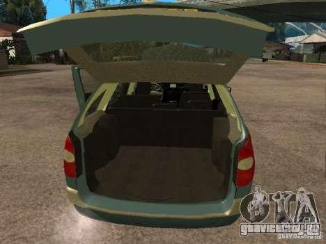 Renault Laguna II для GTA San Andreas вид сзади