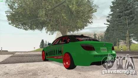 BMW M5 E60 Darius Balys для GTA San Andreas вид справа