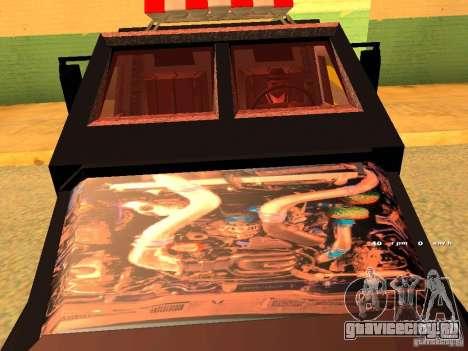 Swat III Securica для GTA San Andreas вид сзади слева