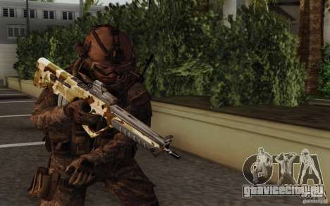 Tavor Tar-21 Camodesert для GTA San Andreas