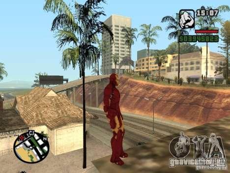 Iron man 2 для GTA San Andreas третий скриншот