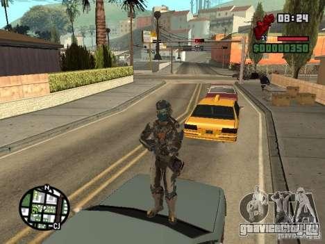 Костюм из игры Dead Space 2 для GTA San Andreas