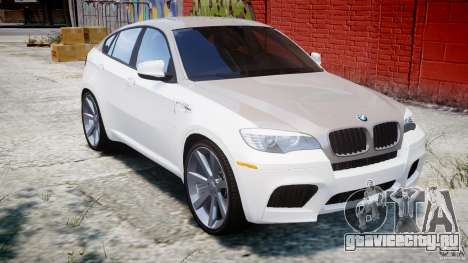 BMW X6M v1.0 для GTA 4 вид изнутри