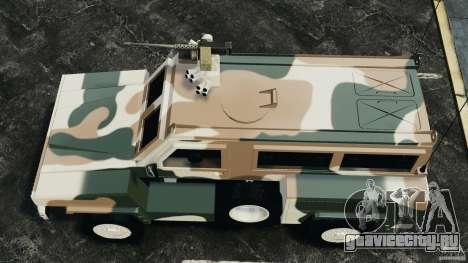RG-31 Nyala SANDF для GTA 4 вид справа