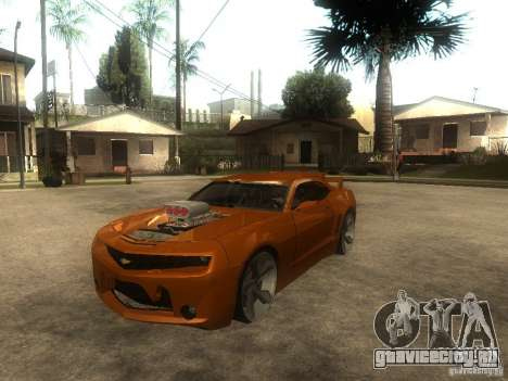 Chevrolet Camaro SS Dark Custom Tuning для GTA San Andreas