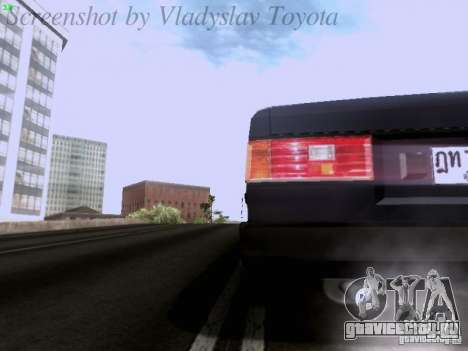 Toyota Corolla TE71 Coupe для GTA San Andreas вид сверху