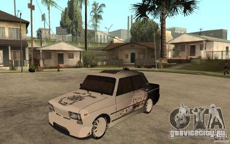 ВАЗ 2106 Hard Tuned для GTA San Andreas