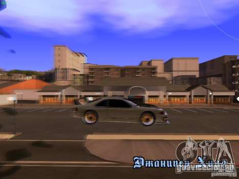 New Racing Style Fortune для GTA San Andreas вид изнутри