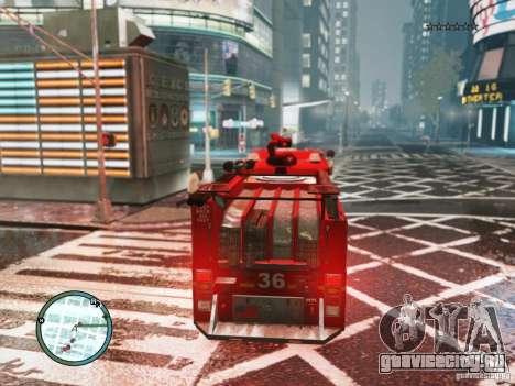 New LCFD Car для GTA 4 вид справа