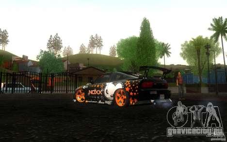 Nissan Silvia RPS13 Noxx для GTA San Andreas вид справа