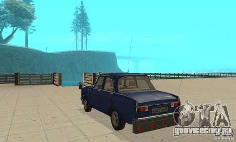 Москвич 412 с народным тюнингом для GTA San Andreas вид сзади слева