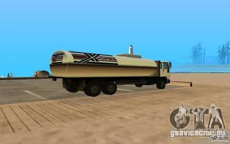 DFT-30 c Цистерной для GTA San Andreas вид сзади слева
