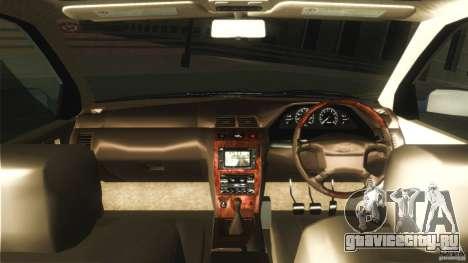 Nissan Cefiro A32 Kouki для GTA San Andreas вид изнутри