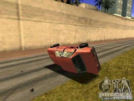 Realistic Car Crash Physics для GTA San Andreas