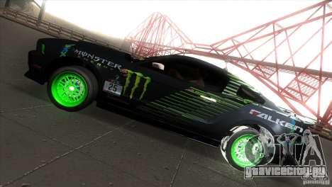Ford Shelby GT500 Falken Tire для GTA San Andreas вид слева