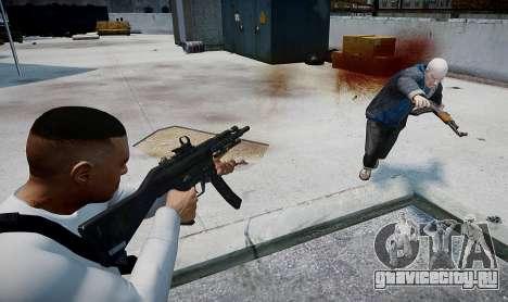 MP5 (CoD: Modern Warfare 3) для GTA 4 третий скриншот