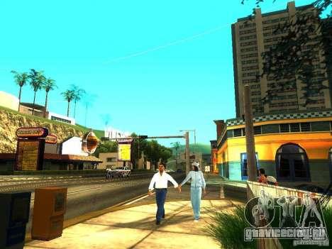 EnbSeries by gta19991999 v2 для GTA San Andreas второй скриншот