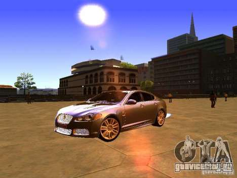 Jaguar XFR 2011 для GTA San Andreas