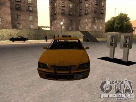Taxi из GTA IV для GTA San Andreas вид справа