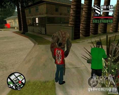 Танк из Left 4 Dead. для GTA San Andreas третий скриншот