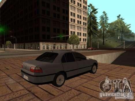 Opel Omega B 1998 v2 для GTA San Andreas вид справа