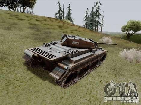 PzKpfw II Ausf.B для GTA San Andreas вид сзади слева
