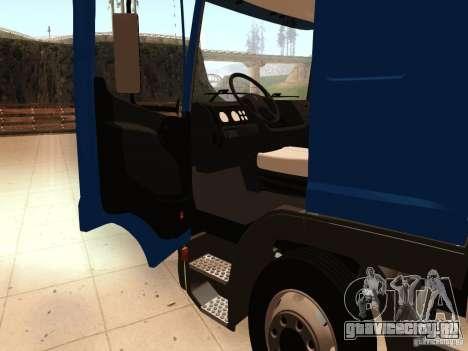 Mercedes-Benz Atego для GTA San Andreas вид сзади
